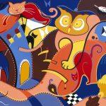 Toyism_Art-Silent-Intruders-door toyist Fihi