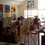 Workshops in de galerie