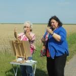 Workshops rondom de galerie