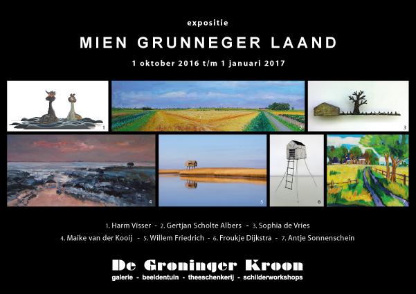 Uitnodiging Mien Grunneger Laand