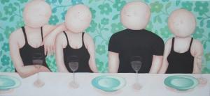 10- Sanne Kuiper- 2015 Uit de serie Vrienden aan tafel
